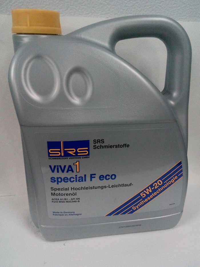 SRS ViVA 1 special F eco SAE 5W-20 5л